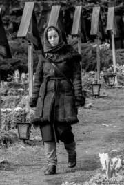 Sadness woman - Prislop Monastery